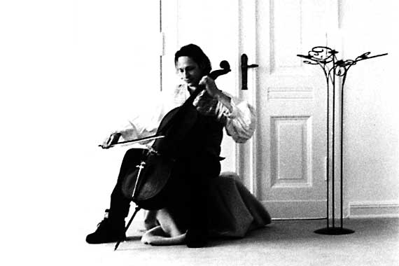 Der Cellist Boris